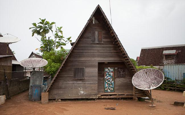 maison en bois Guyane